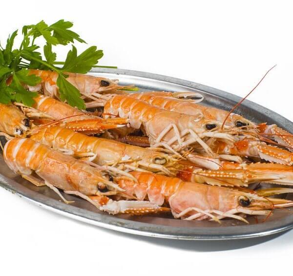 Langoustines, plus proche du homard que de la langouste malgré son nom, la « demoiselle de la mer » doit sa réputation à la délicatesse de sa chair.